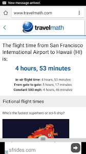 travel math images How long is the flight from san francisco to hawaii quora