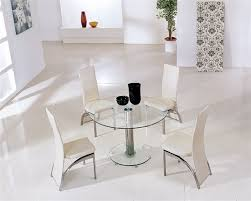 small glass kitchen table great glass round dining tables smart furniture regarding small