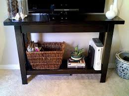 Diy Console Table Plans by Diy Console Table The Original Plans Don U0027t Have A Shelf On The