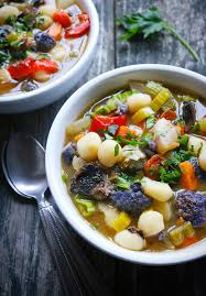 sheet pan roasted vegetable soup with gnocchi soupaddict com