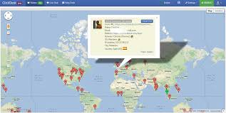 Ip Address Map See Visitors On A Real Time Map U0026 Invite Them To Live Chat