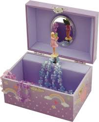 Childrens Music Boxes Somewhere Over The Rainbow Fairy Musical Jewellery Box Music Boxes