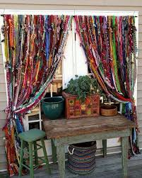 What Kind Of Fabric To Make Curtains Best 25 Hippie Curtains Ideas On Pinterest Scrap Fabric