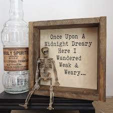 halloween party decor poe funny halloween display bar decor