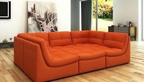 orange leather sectional sofa burnt orange couch burnt orange leather sectional sofa