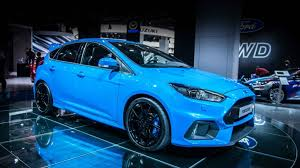 fastest model 2016 ford focus rs revealed as the fastest rs model sprints