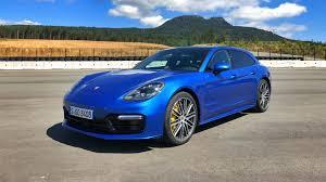 porsche panamera blue 2018 porsche panamera sport turismo first drive review