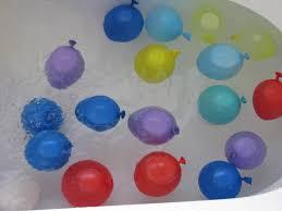 water ballon sensory play bath time fun learning 4 kids