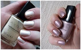 new from avon nailwear pro nail enamel swatch central lovely