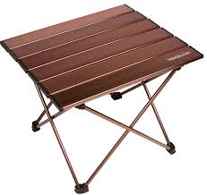 amazon com trekology portable camping tables with aluminum table