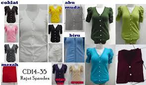 Cardigan Termurah cd14 35 rajut spandex 60rb 54rb 51 5rb grosir baju cardigan wanita
