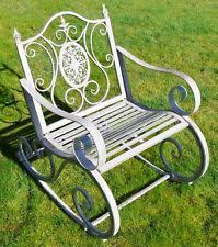 garden chairs in brand pagoda type rocking chair ebay