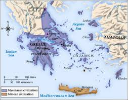 Ancient Greece Map Activity by Ancient Greece Summary