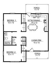 Home Design 700 I Like This Floor Plan 700 Sq Ft 2 Bedroom Floor Plan Build Or