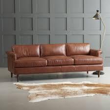 Camelback Leather Sofa by Rustic Sofas You U0027ll Love Wayfair