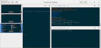 terminal emulator apk free terminix a new gtk 3 tiling terminal emulator for linux