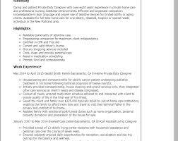 Sample Resume Of A Caregiver by Download Caregiver Resume Samples Haadyaooverbayresort Com