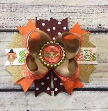 thanksgiving hair bows handmade hair bows for ebay