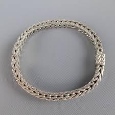 silver snake chain bracelet images John hardy sterling silver braided snake chain bracelet at 1stdibs jpg