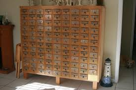 card catalog from the 1940s soeclectic