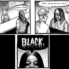 Black Metal Memes - how i like my coffe