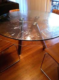 clear table top protector dining tables clear table protector pads coffee customhow to glass