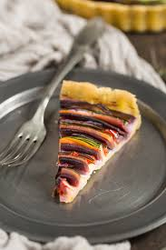 vegan vegetable spiral tart gluten free beauty food blog