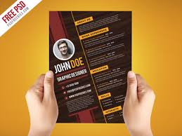 graphic design resume template free psd creative graphic designer resume template psd by psd