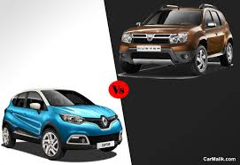 nissan terrano vs renault duster renault duster vs captur comparison car malik