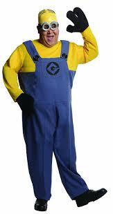 minion costumes rubie s costume plus size despicable me 2 dave minion