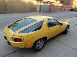 ugly porsche rare talbot yellow 5 speed 1980 porsche 928 bring a trailer