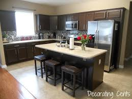 painted kitchen cabinets ideas colors dark brown kitchen cabinets in seattle with blue walls cabinet