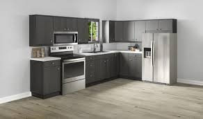 kitchen cabinets and countertops at menards klëarvūe l shaped kitchen w 10 cabinet cabinets only at