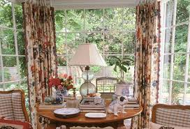 bay window living room french country curtains beautify your