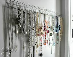 Ideas For Wall Mounted Tie Rack Design Organizing Jewelry Ocd Organize Jewelry Pinterest
