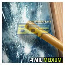 bdf s4mb05 window film security and privacy 4 mil black 5 very