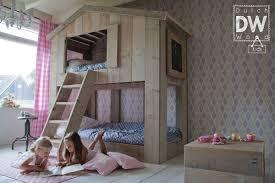 lit enfant ludique lit cabane enfant de la marque dutchwood abitare kids