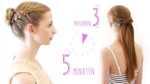 Sch E Frisuren Zum Selber Machen In 5 Minuten by 3 Einfache Flechtfrisuren In Nur 5 Minuten So Geht S