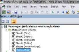 hiding sheets when opening an excel file a4 accounting