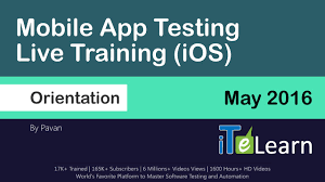 Mobile Application Testing Sample Resume by Mobile App Testing Live Training Ios Day01 For Beginners Youtube