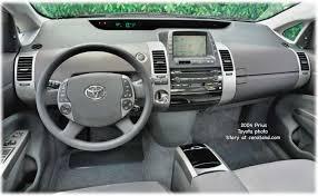 Toyota Prius Interior Dimensions Toyota Prius Hybrid Electric Car Reviews