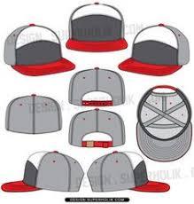 baseball hat template vector fashion vector templates