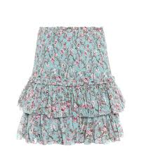 cotton skirt printed cotton skirt marant étoile mytheresa