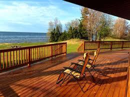 lake house vacation rental on lake superior ontonagon mi