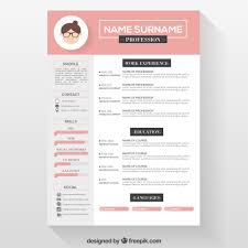 Free Cosmetology Resume Templates Cv Resume Template Free Resume For Your Job Application