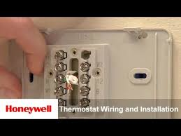 honeywell diy wi fi thermostat wiring and installation us and