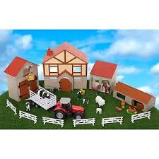 Toy Barn With Farm Animals Cheap Tractor And Farm Find Tractor And Farm Deals On Line At