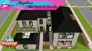 Sims Freeplay Beach House by White Mansion By Samantha Sims Freeplay Youtube