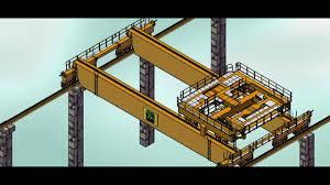 eot crane mechanisum assembly sainath parulekar youtube