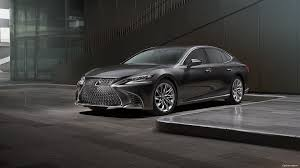 dark green lexus 2018 lexus ls luxury sedan luxury sedan